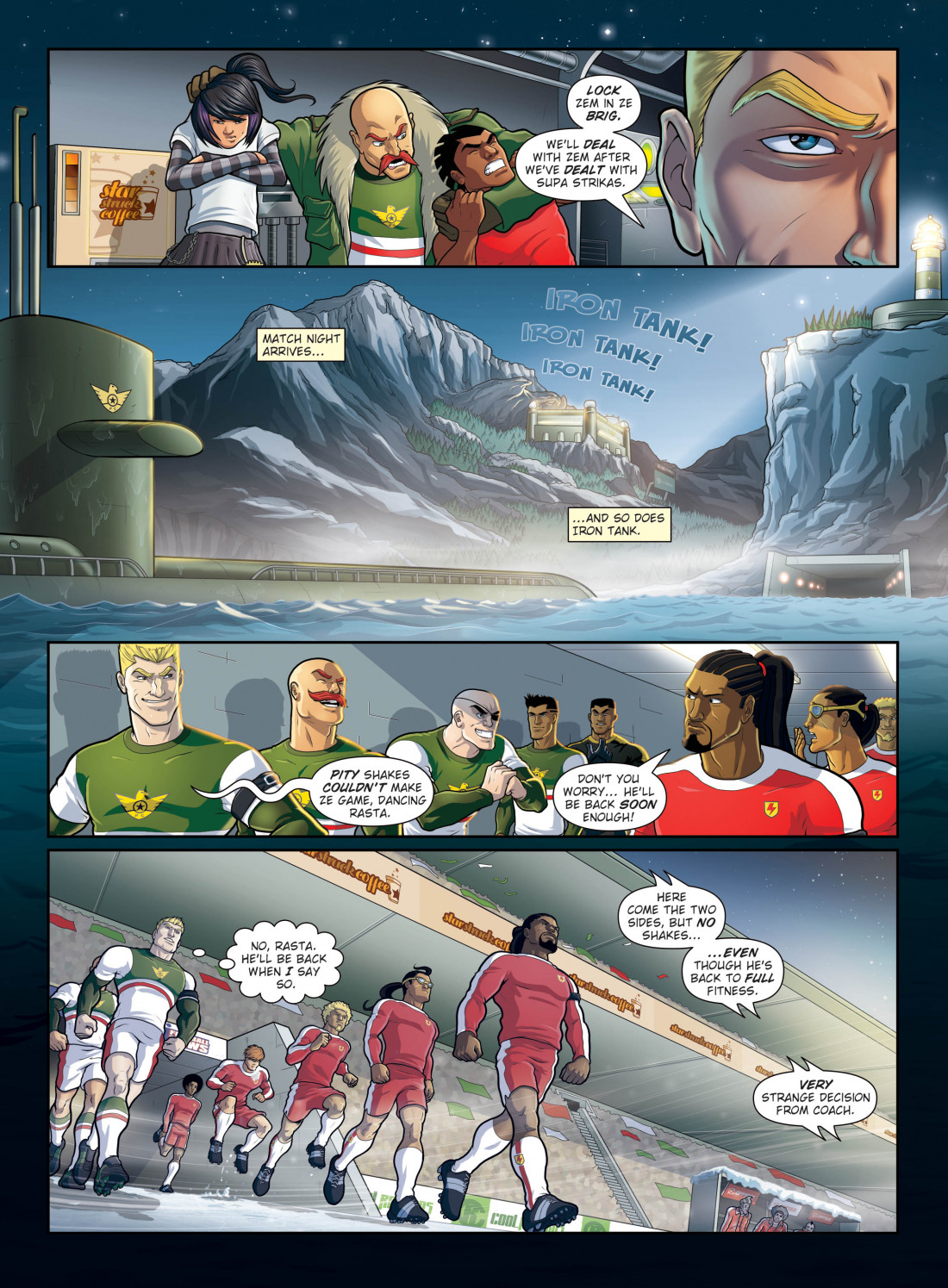 Supa Strikas Comic Book